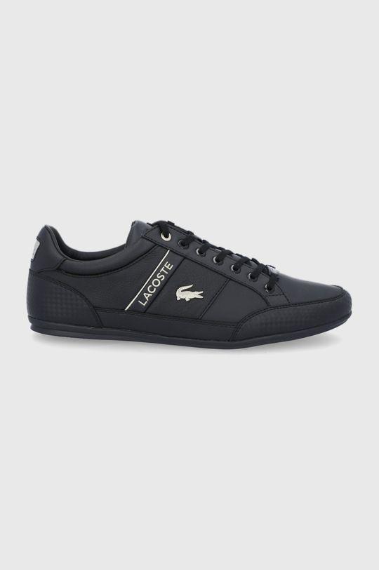 čierna Lacoste - Topánky Pánsky