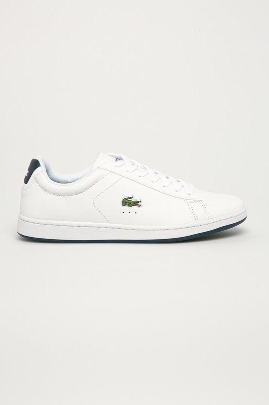 bílá Lacoste - Kožené boty Carnaby Pánský