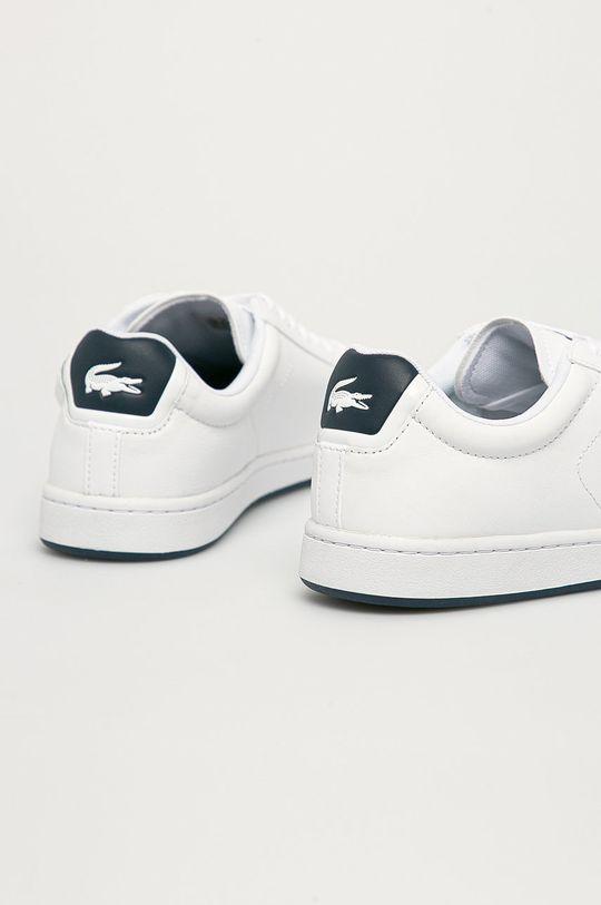 Lacoste - Kožené boty Carnaby  Svršek: Přírodní kůže Vnitřek: Textilní materiál Podrážka: Umělá hmota