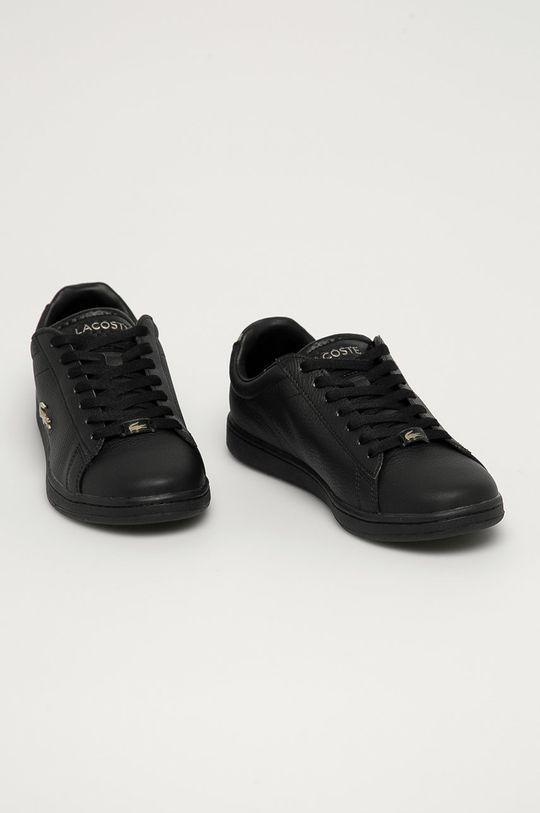 Lacoste - Kožená obuv Carnaby Evo čierna