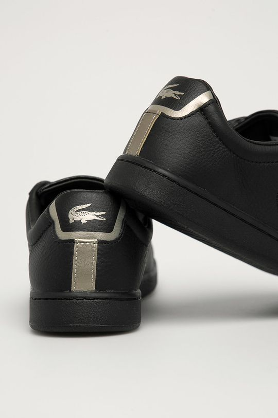 Lacoste - Kožená obuv Carnaby Evo  Zvršok: Prírodná koža Vnútro: Syntetická látka, Textil Podrážka: Syntetická látka