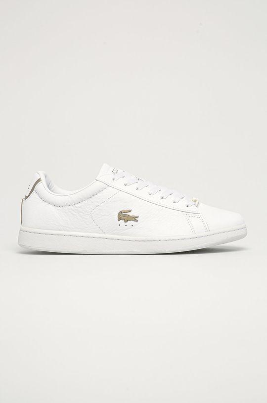 bílá Lacoste - Kožené boty Pánský