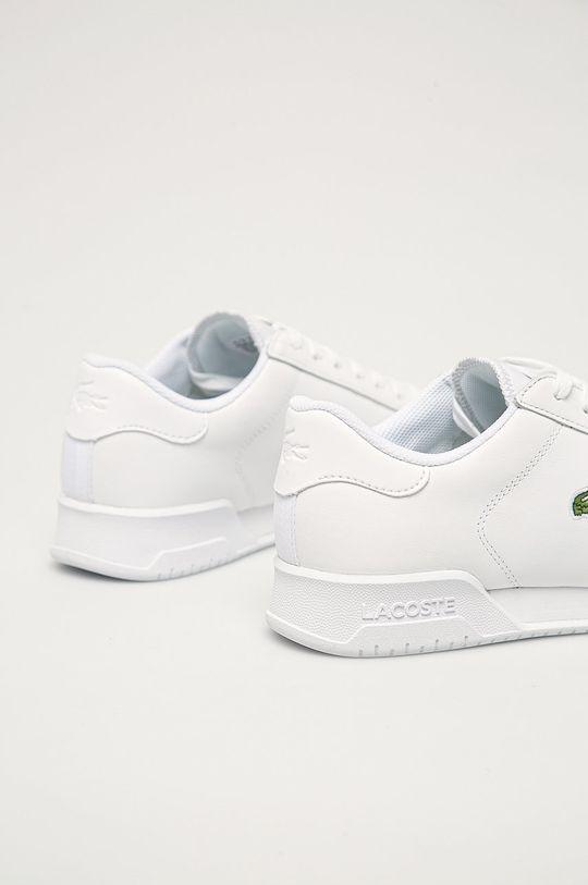 Lacoste - Kožená obuv  Zvršok: Prírodná koža Vnútro: Textil Podrážka: Syntetická látka