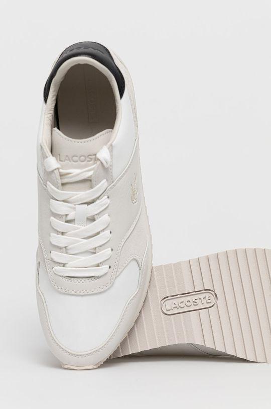 biały Lacoste - Buty Aesthet Luxe