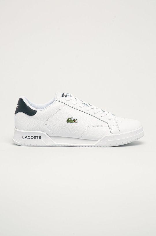 biela Lacoste - Topánky Pánsky