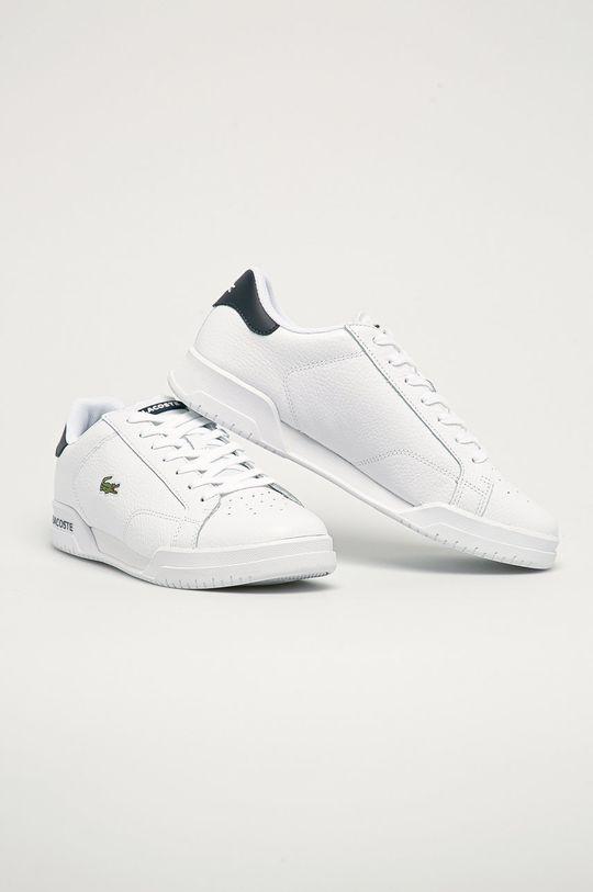 Lacoste - Topánky biela