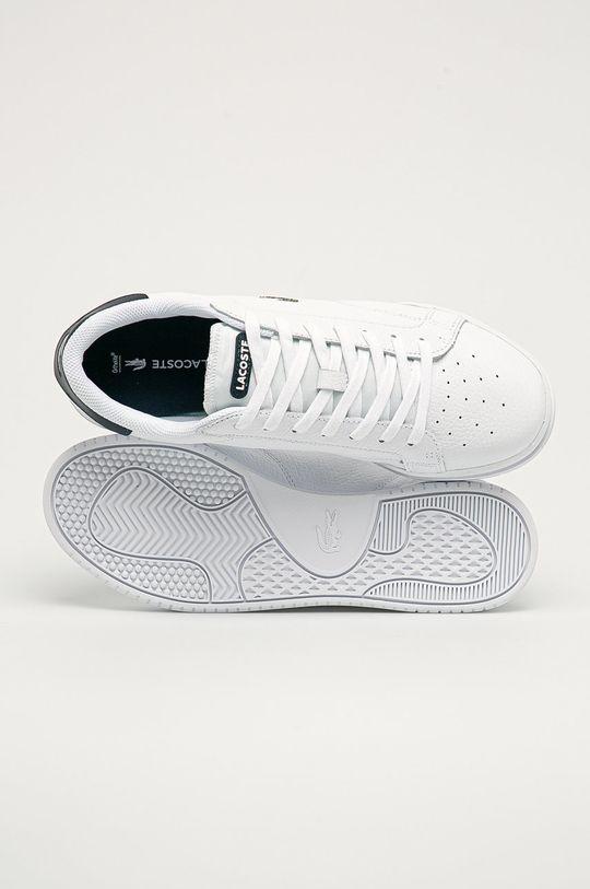 biela Lacoste - Topánky
