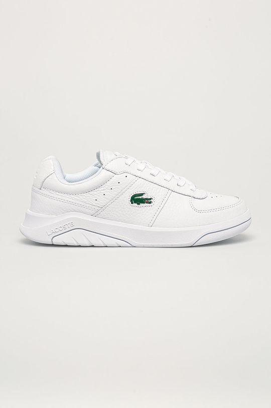 bílá Lacoste - Kožené boty Game Advance Pánský