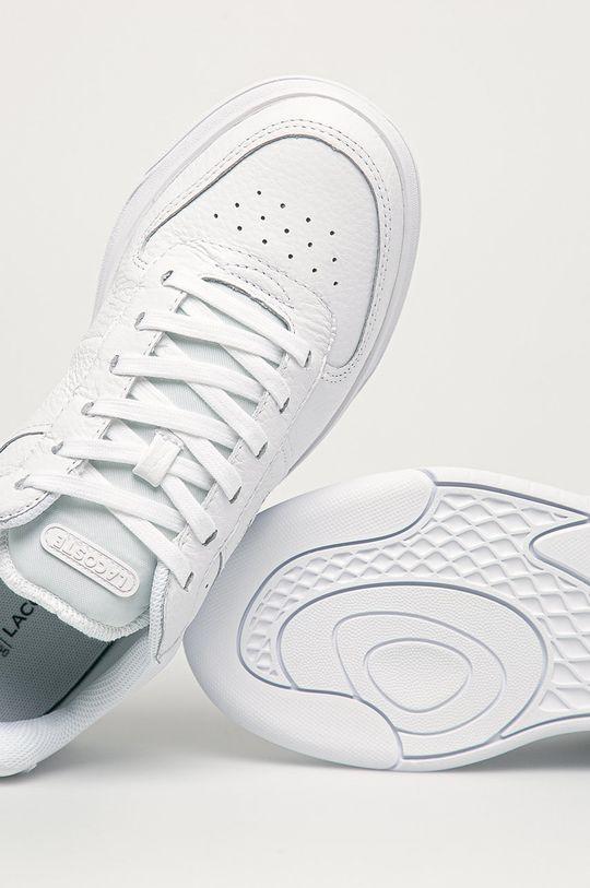 bílá Lacoste - Kožené boty Game Advance