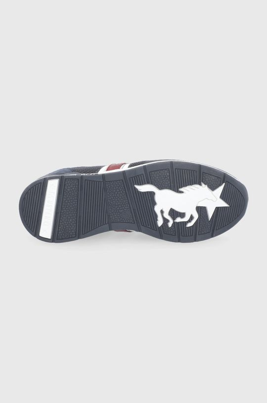 granatowy Mustang - Buty