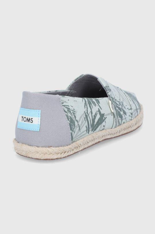 Toms - Espadrilky Mercury Botanical Palm  Svršek: Textilní materiál Vnitřek: Textilní materiál Podrážka: Umělá hmota