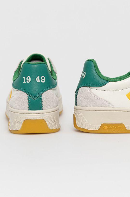 Gant - Kožená obuv Saint-Bro  Zvršok: Prírodná koža Vnútro: Textil Podrážka: Syntetická látka