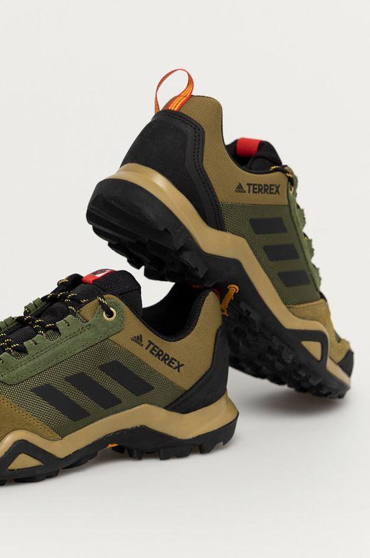 adidas Performance - Buty Terrex AX3 Cholewka: Materiał tekstylny, Skóra zamszowa, Wnętrze: Materiał tekstylny, Podeszwa: Materiał syntetyczny
