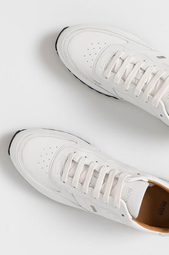 bílá Boss - Kožené boty