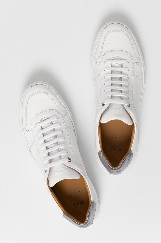 biela Boss - Kožená obuv