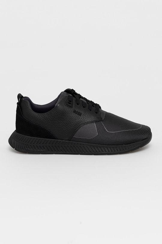 čierna Boss - Topánky Pánsky