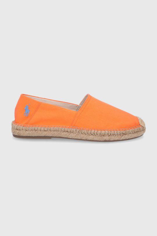 pomarańczowy Polo Ralph Lauren - Espadryle Męski