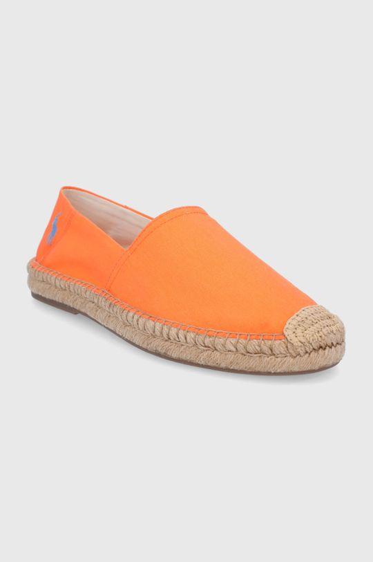 Polo Ralph Lauren - Espadryle pomarańczowy