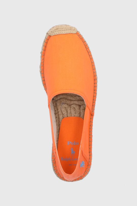 pomarańczowy Polo Ralph Lauren - Espadryle