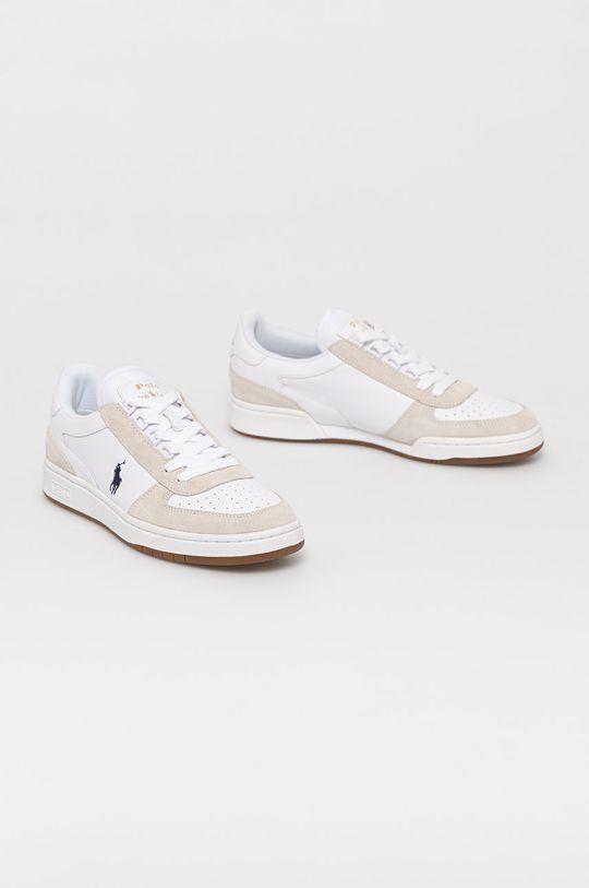 Polo Ralph Lauren - Topánky biela