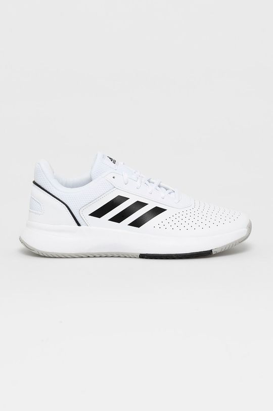 biela adidas - Topánky Courtsmash Pánsky