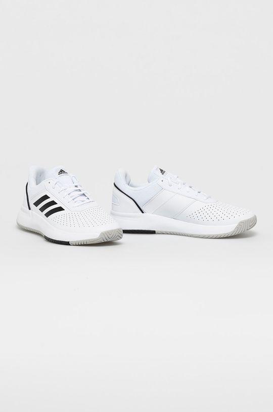 adidas - Topánky Courtsmash biela