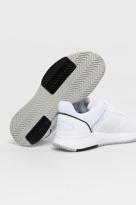 adidas - Topánky Courtsmash  Zvršok: Textil, Prírodná koža Vnútro: Textil Podrážka: Syntetická látka