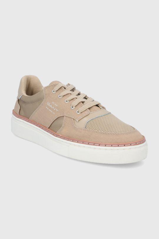 Gant - Topánky Mc Julien béžová