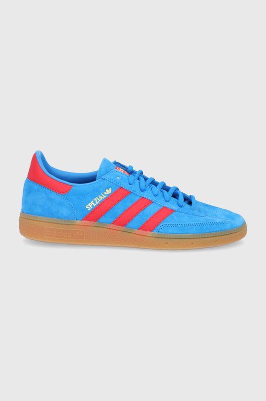 modrá adidas Originals - Semišové topánky Handball Spezial Pánsky