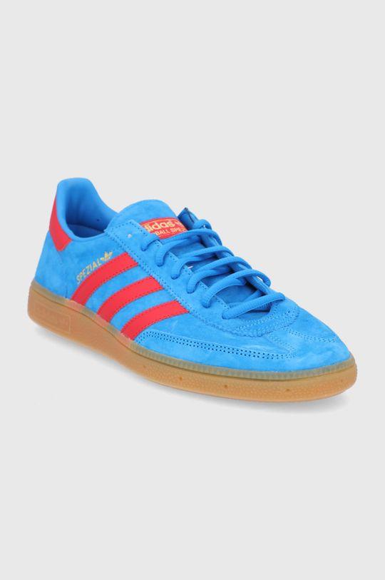 adidas Originals - Semišové topánky Handball Spezial modrá