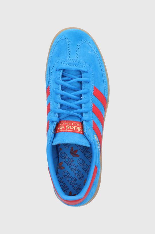 modrá adidas Originals - Semišové topánky Handball Spezial