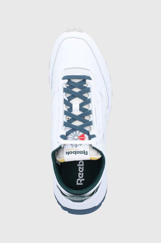 biela Reebok Classic - Kožená obuv CL Legacy