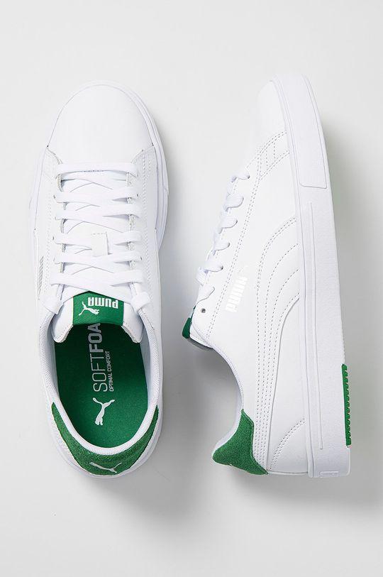 biela Puma - Topánky Serve Pro Lite