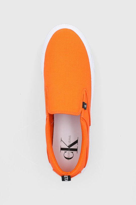 pomarańczowy Calvin Klein Jeans - Tenisówki