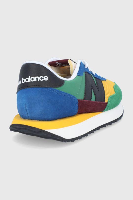 New Balance - Topánky S237LB1  Zvršok: Textil, Prírodná koža Vnútro: Textil Podrážka: Syntetická látka