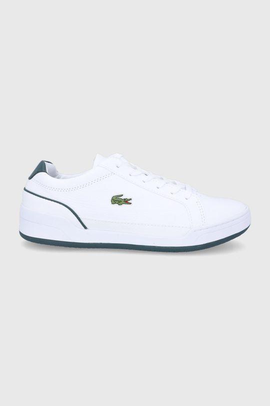 bílá Lacoste - Kožené boty Challenge Pánský