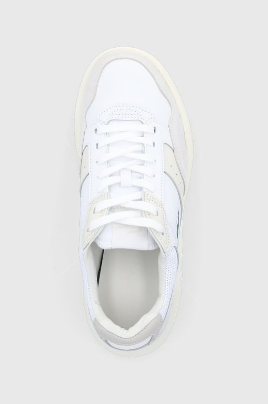biały Lacoste - Buty skórzane Game Advance