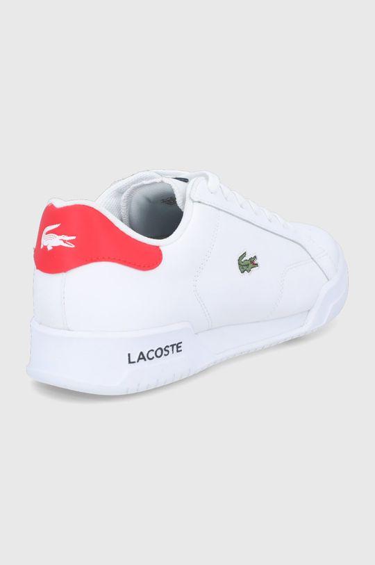 Lacoste - Kožené boty Twin Serve  Svršek: Přírodní kůže Vnitřek: Textilní materiál Podrážka: Umělá hmota