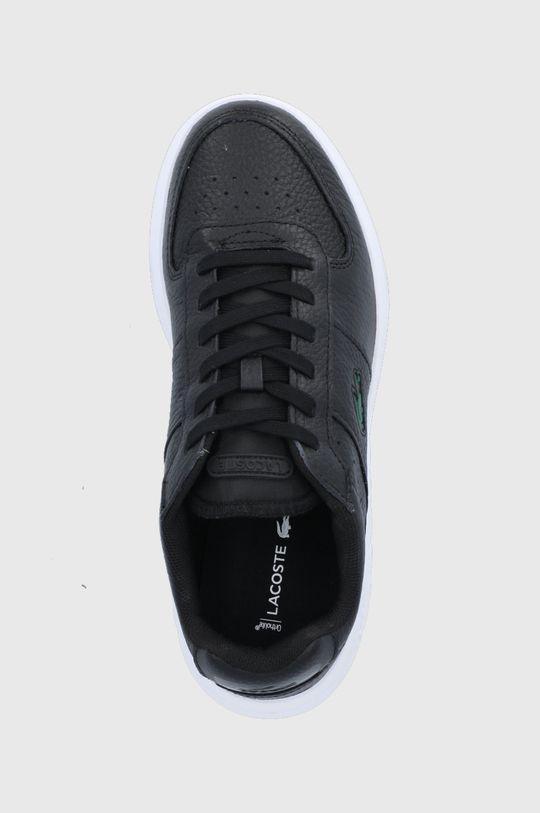 černá Lacoste - Kožené boty Game Advance