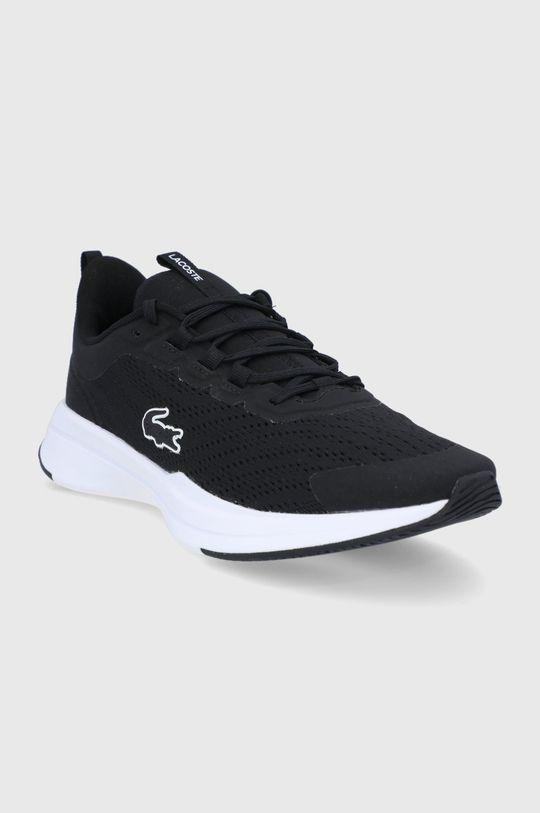 Lacoste - Topánky Run Spin čierna