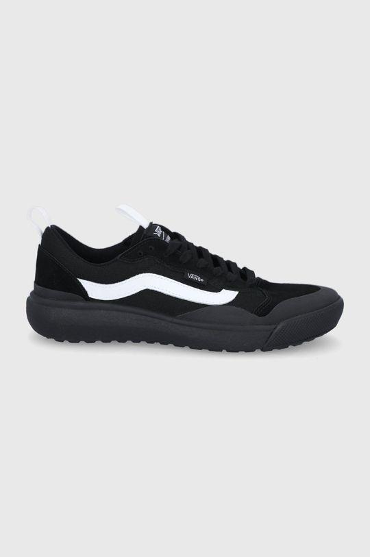 černá Vans - Semišové boty Pánský