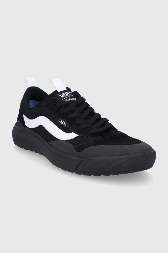 Vans - Semišové boty černá