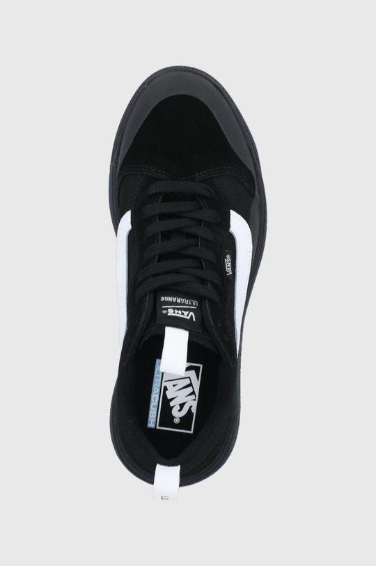 černá Vans - Semišové boty