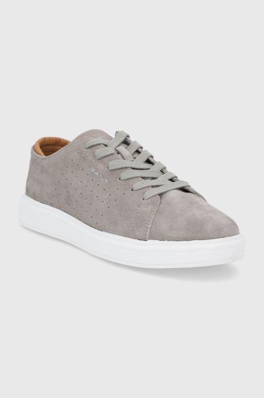 Gant - Semišové boty Fairville šedá