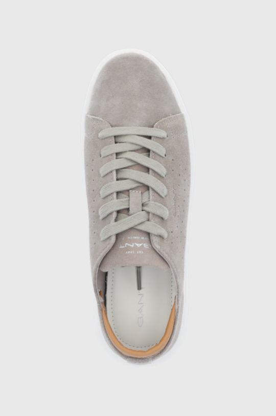 šedá Gant - Semišové boty Fairville