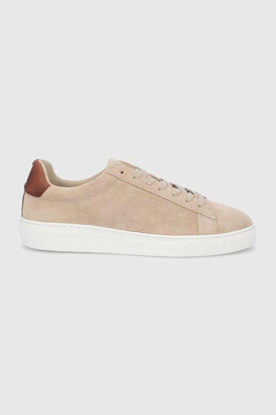 béžová Gant - Semišové boty Mc Julien Pánský