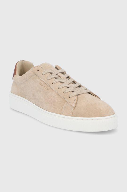Gant - Semišové boty Mc Julien béžová