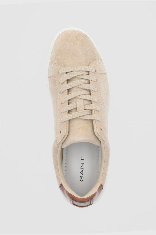 béžová Gant - Semišové boty Mc Julien