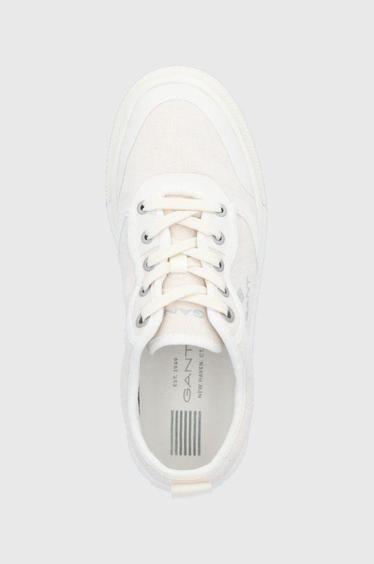 biały Gant - Buty St Crew