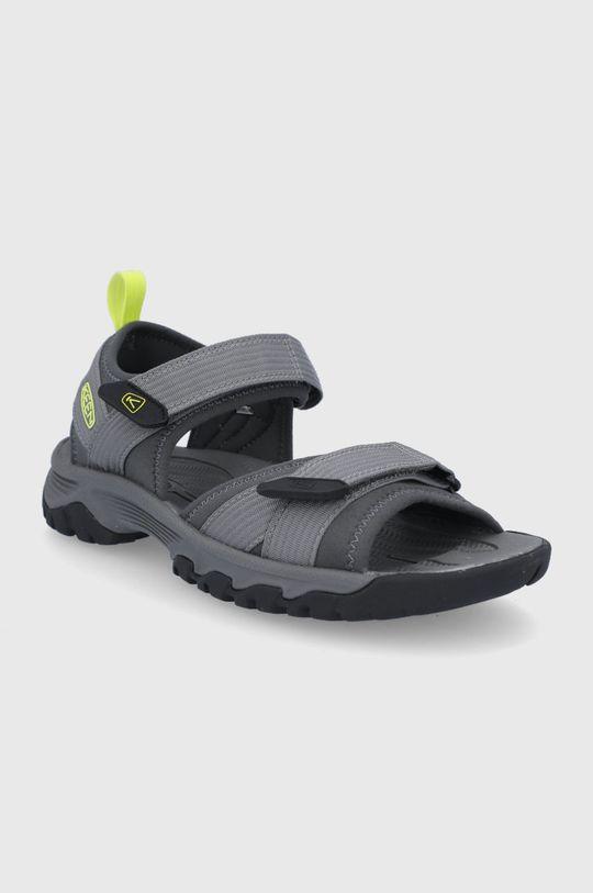 Keen - Sandále Targhee III sivá